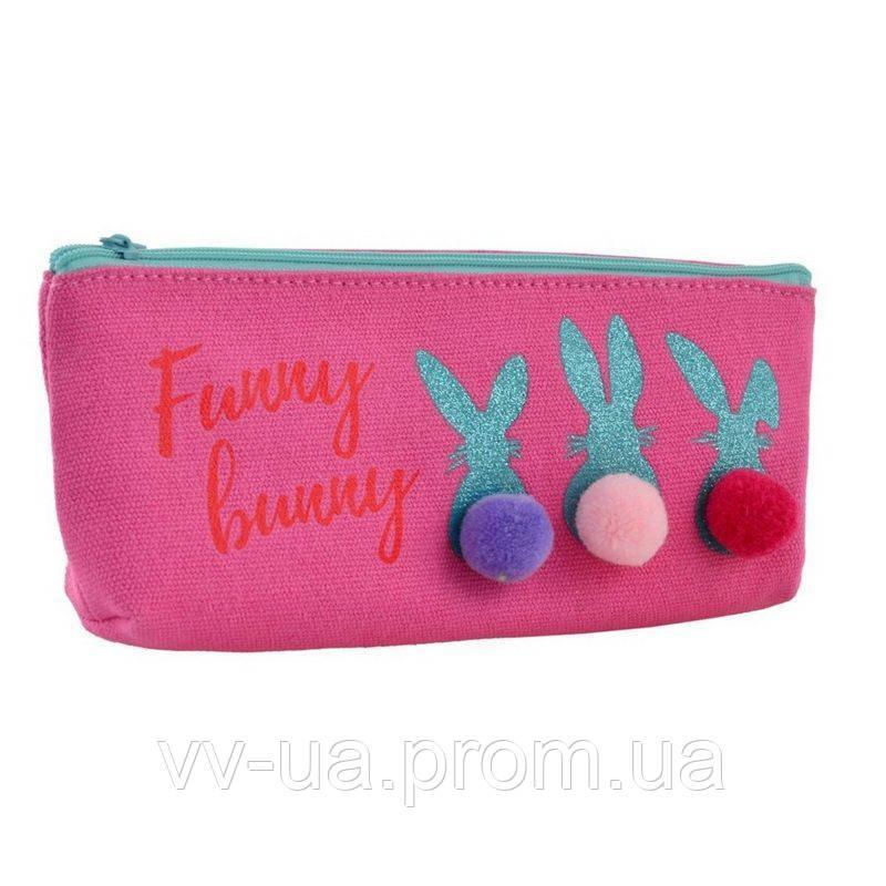 Пенал мягкий Yes TP-23 Funny Bunny (532528)