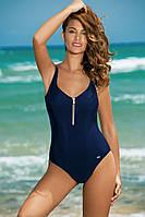 Синий спортивный купальник большого размера (L, XL, XXL)