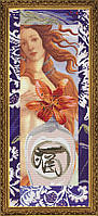 Набор для вышивания нитками на канве Зеркало души СД 6094