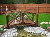 Декоративный мостик для сада №3