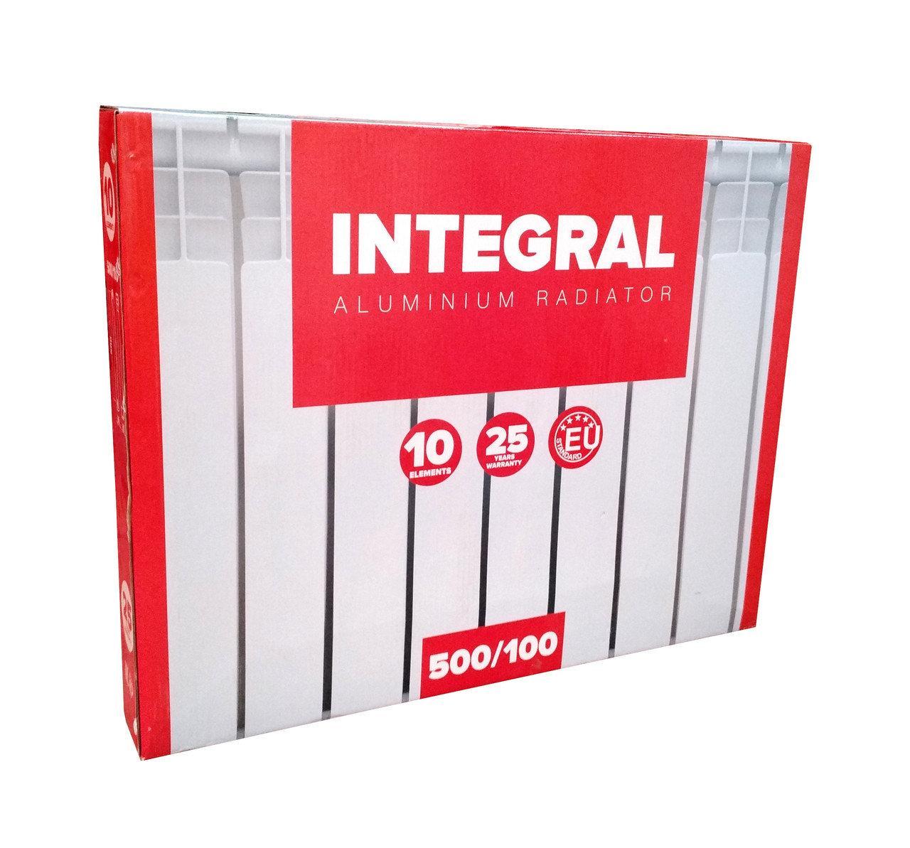 Алюминиевый радиатор Integral 500/100