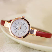 Женские наручные часы браслет Ymhao КРАСНЫЕ, фото 1