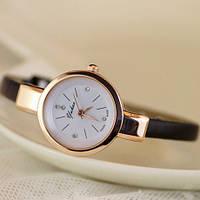 Женские наручные часы браслет Ymhao ЧЕРНЫЕ, фото 1