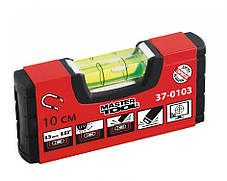 Уровень 10 см, 1 капсула, 0,5мм/1м с магнитом MasterTool 37-0103