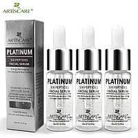 Питательная сыворотка с ионами серебра, пептидами и гиалуроновой кислотой  Artiscare Platinum Six Peptides