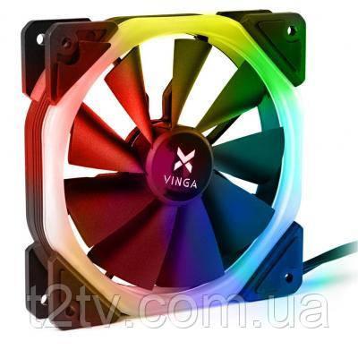 Кулер для корпуса Vinga RGB fan-05