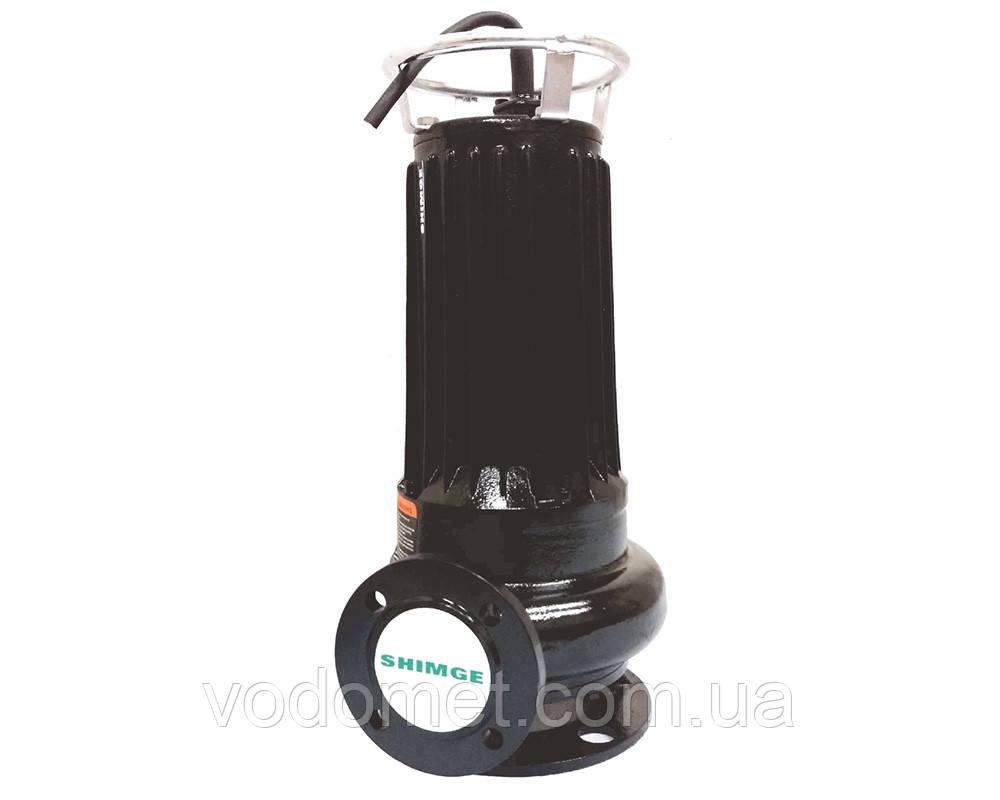 Погружной канализационный насос SHIMGE WQDAS25-10-2.2CB 2200Вт Hmax=16м Qmax=33куб.м/час