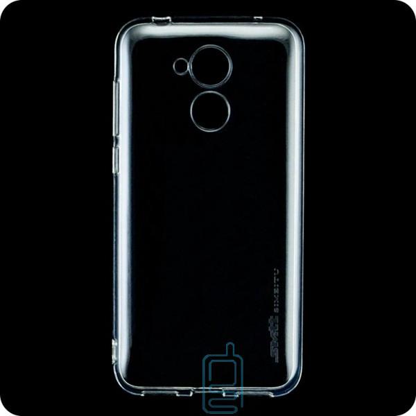Чехол силиконовый SMTT Huawei Honor 6A прозрачный