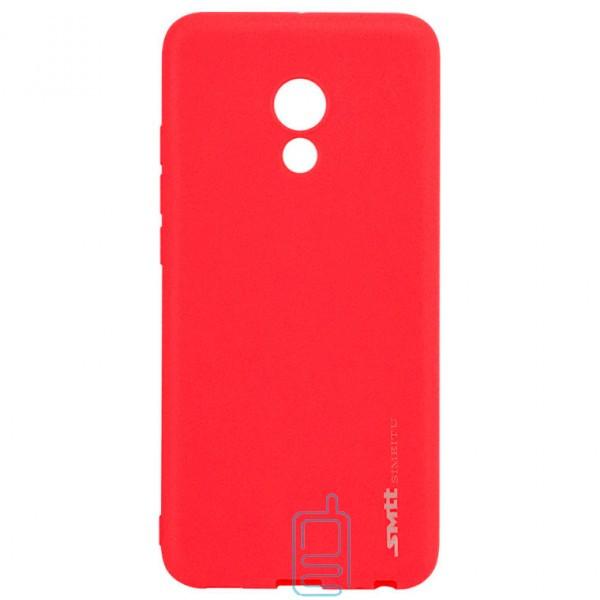 Чехол силиконовый SMTT Meizu Pro 6. Pro 6S красный