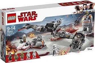 Lego Star Wars 75202  Defense of Crait Оборона Крейта. 746 деталей (Lego Star Wars Защита Крэйта 75202 )