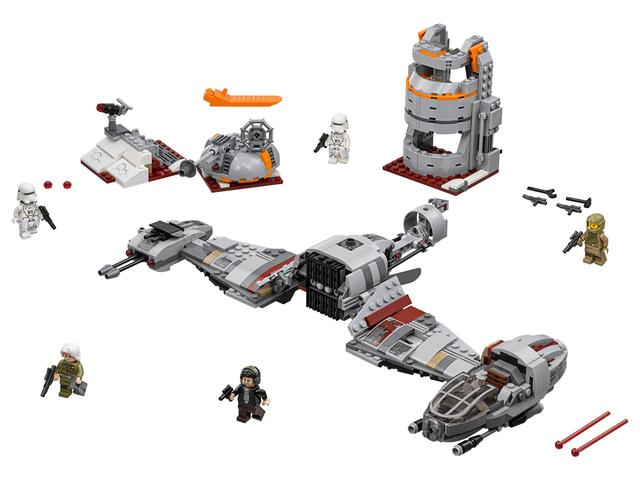 Lego Star Wars Защита Крэйта 75202