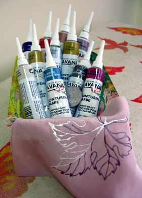 Контурна фарба для тканини KREUL Javana Перламутр +резерв 20мл KR-81****