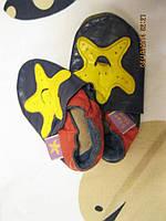 Пинетки тапки тапочки чешки детские натуральная кожа на малыша 10см