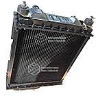 Радиатор водяной МТЗ-80 (алюмин.) (4-х рядный) + крышка + аморт. х 2 шт (метал бачки), фото 4