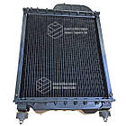 Радиатор водяной МТЗ-80 (алюмин.) (4-х рядный) + крышка + аморт. х 2 шт (метал бачки), фото 7
