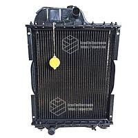 70У-1301010-01. Радиатор водяной МТЗ-80 (медный) (4-х рядный) + крышка + аморт. х 2 шт (метал бачки)