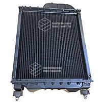 Радиатор водяной МТЗ-80 (медный) (4-х рядный) + крышка + аморт. х 2 шт (метал бачки)