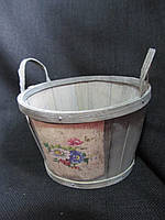 Кашпо из бересты (60/55) (цена за 1 шт. +5 грн.), фото 1