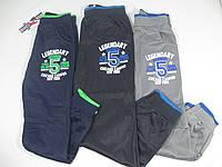 Спортивные штаны для мальчиков из эластика, размер 146, А, арт. НZ 5584