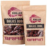 Бойлы Brain Kriller (кальмар/специи) POP-UPS 14mm 20g