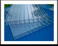 Сотовый поликарбонат Vizor 4 мм, прозрачный