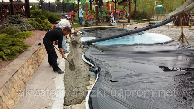 Стеклопластиковый бассейн Майями в Киеве