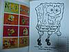 Разрисовка с наклейками (Губка Боб,Китти,Спайдер,Барби...), фото 5