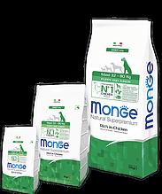 Monge MAXI PUPPY JUNIOR CHICKEN & RICE сухой корм для щенков крупных пород КУРИЦА и РИС 3 кг