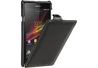 Чехол для Sony Xperia L S36h C2105 - Vetti Craft Leather flip