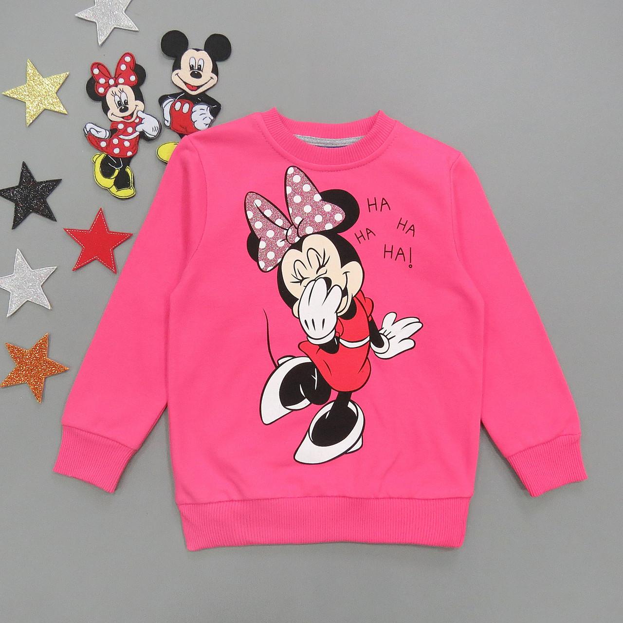Теплый свитшот Minnie Mouse для девочки.