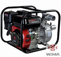 Мотопомпа бензиновая Weima WMQGZ50-30 (6.5 л.с., 600 л/мин)