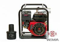 Мотопомпа бензиновая Weima WMQGZ80-30 (6.5 л.с., 1000 л/мин)