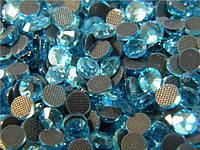 Стразы DMCss30 Aquamarine (6,4-6,6мм)горячей фиксации.50gross / 7.200шт.
