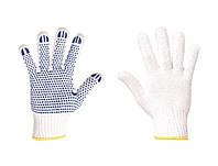 Перчатки ХБ с ПВХ точкой, 10 класс, размер XL (605)