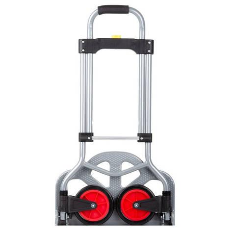 Тележка ручная складная до 60 кг, 385*375*960, колеса 130 мм, (стальная) INTERTOOL LT-9006, фото 2