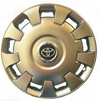 Колесный колпак Toyota R14 серебро - (SJS 206) - шт.