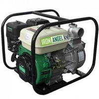 Мотопомпа бензиновая IRON ANGEL WPGD 90 (7 л.с., 1250 л/мин)