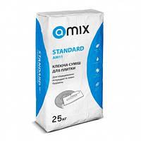 Клей для плитки Amix Standard AM11, 25кг