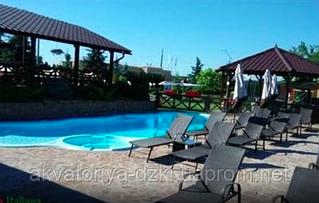 """Наш бассейн"" в ресторане Grigliata Italiana (г. Киев)"