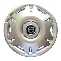 Колесный колпак Volvo R15 серебро - (SJS 305) - шт.