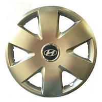 Колесный колпак Hyundai R15 серебро - (SJS 308) - шт.