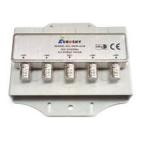 Коммутатор DiSEqC 2.0 4x1 Eurosky DSW-4130 в кожухе R150760 (SKU777)