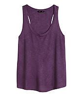 Фиолетовая майка H&M