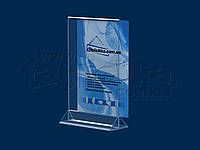 Менюхолдер формату А5 вертикальний, акрил 1,8 мм