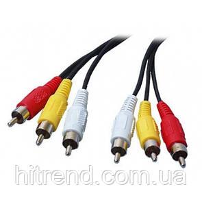 Шнур-кабель 3RCA-3RCA - 150828