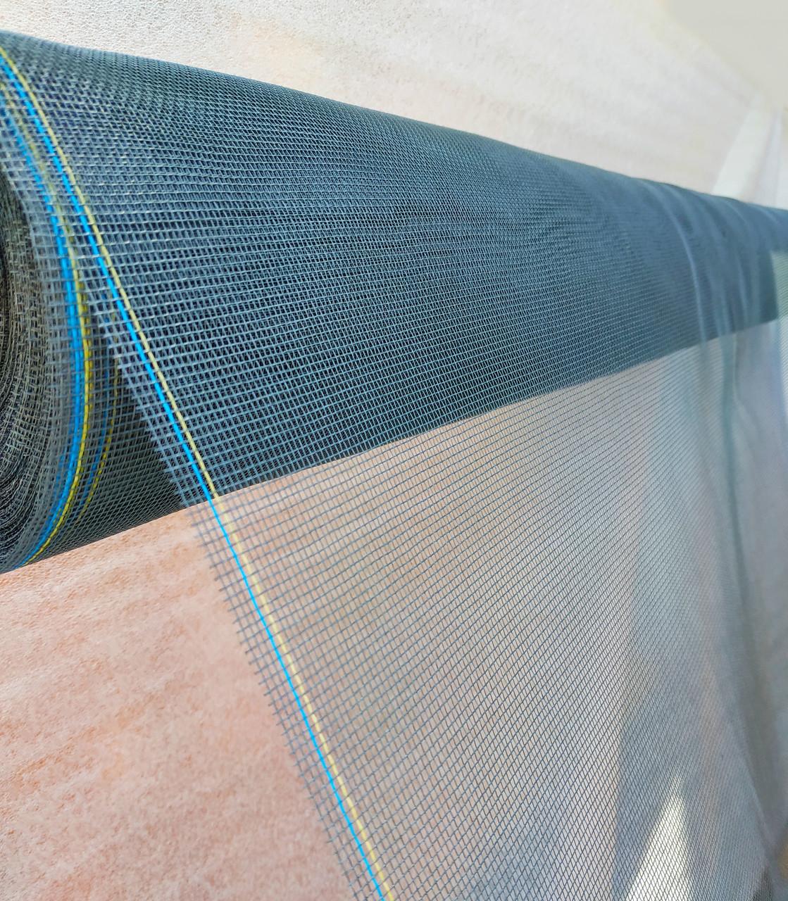 Москитная сетка на окно 1,6х5 м.Серая.
