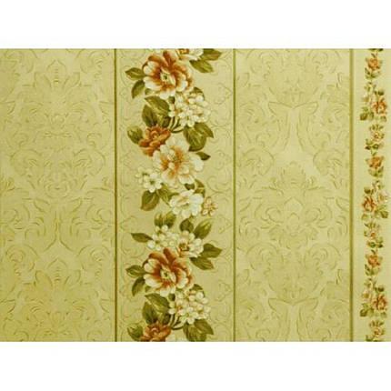 Обои на стену, дуплекс, ансамбль, 874-05, цветок полоса, 0,53*10м, фото 2