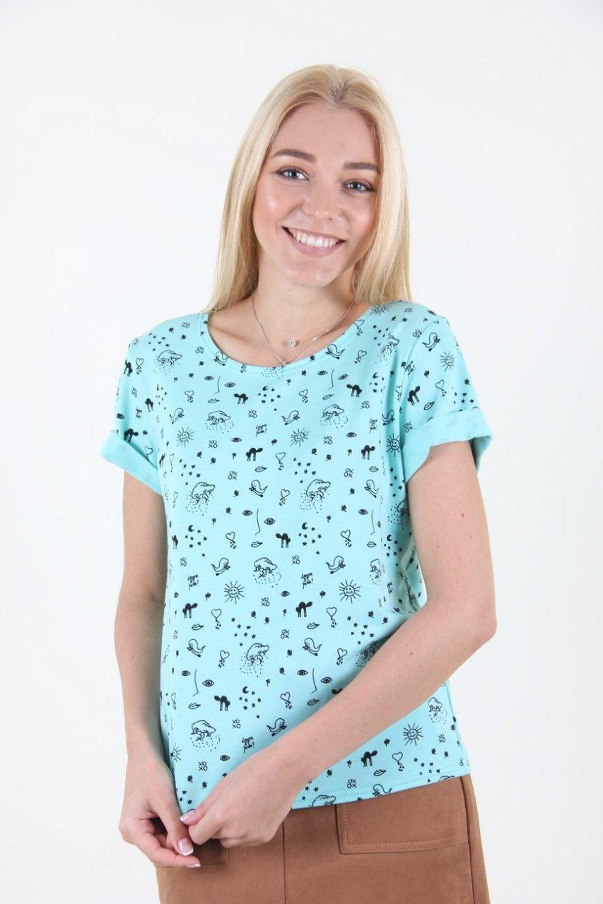 Молодежная стильная футболка.Разные цвета.