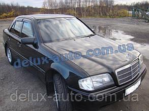 Ветровики Cobra Tuning на авто Mercedes Benz C-klasse Sd W202 1993-2000 Дефлекторы окон Кобра Мерседес С 202