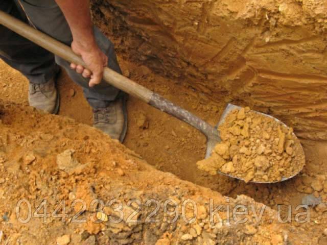 Земляные работы.рытьё лопатой когда начинать земляные работы